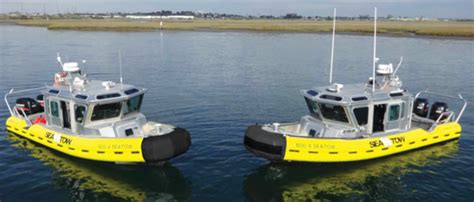 Safe Boats by Sea Tow Adds Three Safe Boats To Fleet The Log