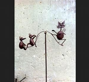 Decoration De Jardin En Fer Forgé Animaux : deco jardin en fer fontaine d corative pour jardin djunails ~ Teatrodelosmanantiales.com Idées de Décoration