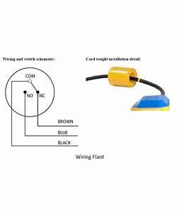 Blackt Electrotech Blackt  Float Switch Sensor For Water