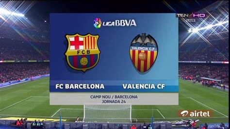FC Barcelona vs Valencia 7-0 Copa Del Ray (3/2/2016) - All ...