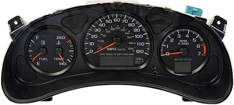 buy car manuals 1996 chevrolet impala instrument cluster 2001 2005 chevrolet impala and monte carlo instrument cluster repair