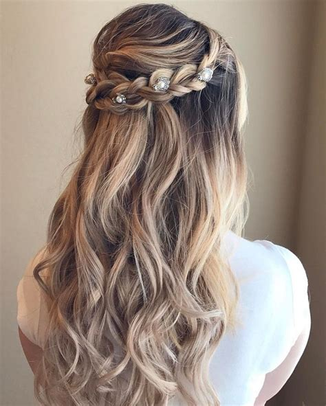Half Up Half Formal Hairstyles For Hair by Beautiful Braid Half Up And Half Hairstyle For