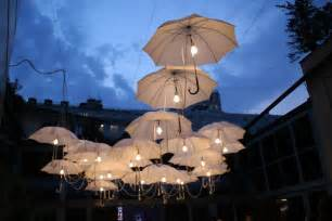 How To Decorate Tent For Wedding Reception by Umbrella Art Installations E Morfes
