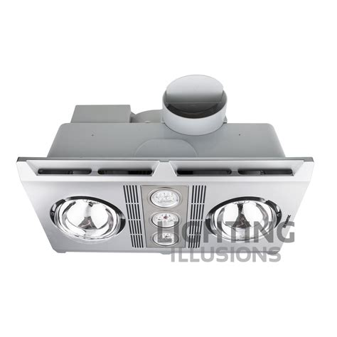 bathroom ceiling heat ls martec profile plus 2 led bathroom heater exhaust fan
