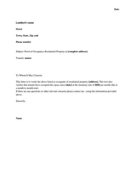 sample change  address letter  customer contoh