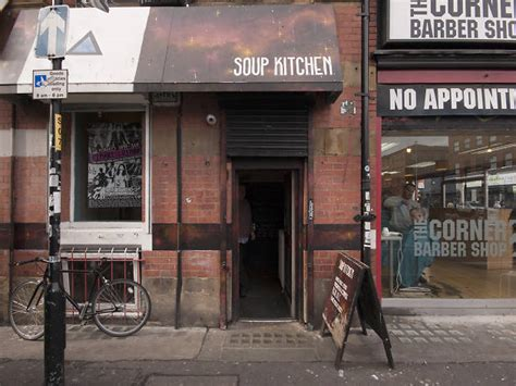 soup kitchen bars  pubs  northern quarter manchester