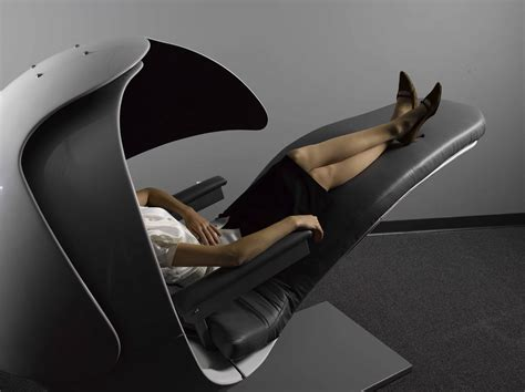 Office Chairs You Can Sleep In by The Napping Energypod Cradles You In Comfort While You
