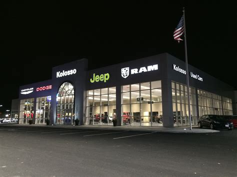 kolosso chrysler jeep dodge ram dealershp