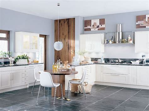 light grey kitchen walls light up your kitchen and add decor using light gray 6994