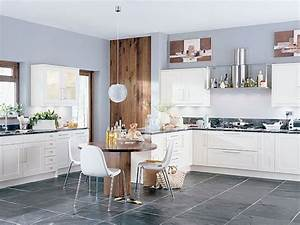 Light, Up, Your, Kitchen, And, Add, Decor, Using, Light, Gray, Kitchen, Walls