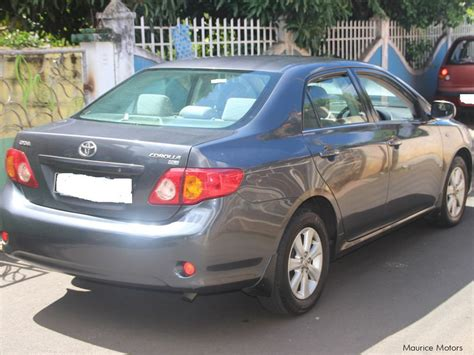 Check spelling or type a new query. Used Toyota Corolla | 2009 Corolla for sale | Beau Bassin ...
