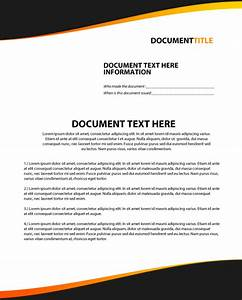 create a modern and stylish company document layout in With document creation company