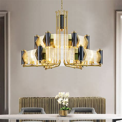 gold and black chandelier black gold chandelier a508