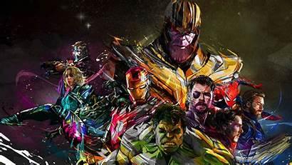 Avengers Hulk Marvel Thanos Thor America Captain