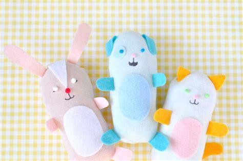 diy  sew stuffed sock animals handmade charlotte