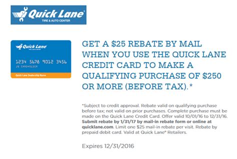 Ford Quick Lane Credit Card   2017, 2018, 2019 Ford Price