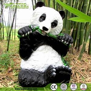 Statue De Jardin En Résine : d coration vie taille panda jardin animaux r sine ~ Dailycaller-alerts.com Idées de Décoration