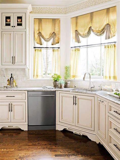 window treatment   sink kitchen curtains sortrachen