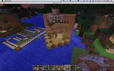minecraft java edition      house boat move  command blocks arqade