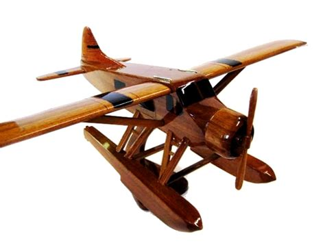 premium wood designs beaver airplane