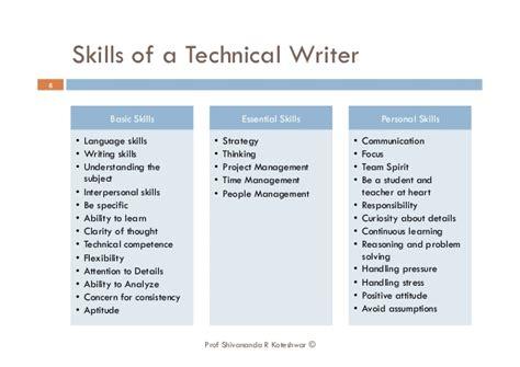 technical writer description book summary technical