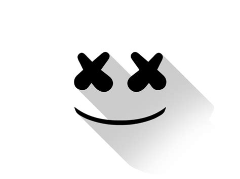 Marshmello Dj Material Design Logo Minimal Wallpaper 1920x1080 Hd Image Picture Q1kpjj