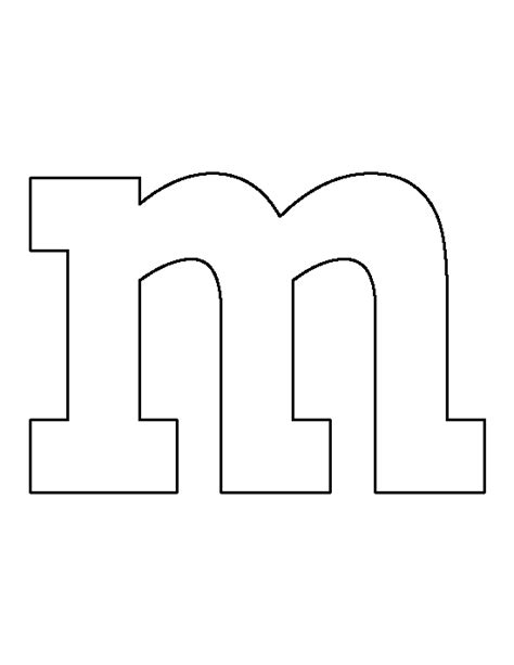 m m template pin by muse printables on printable patterns at patternuniverse lettering