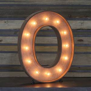 edison marquee letter quotoquot town country event rentals With letter o light