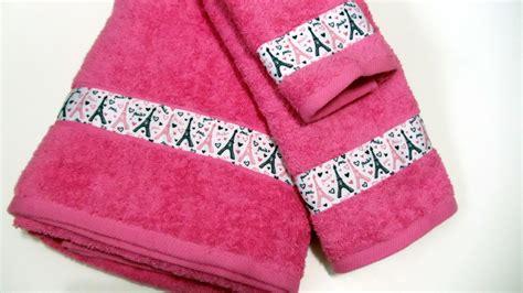 Pink Bathroom Towel Set by Eiffel Tower Bath Set Pink Bath Towel Towel Wash
