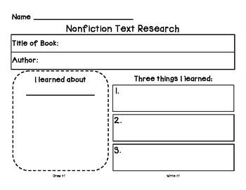 research graphic organizer  teacher librarian tpt