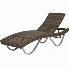 Best Choice Products Wicker Rattan Pool Chaise Lounge