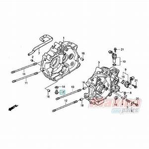 9280012000 Oil Drain Plug Honda Cb