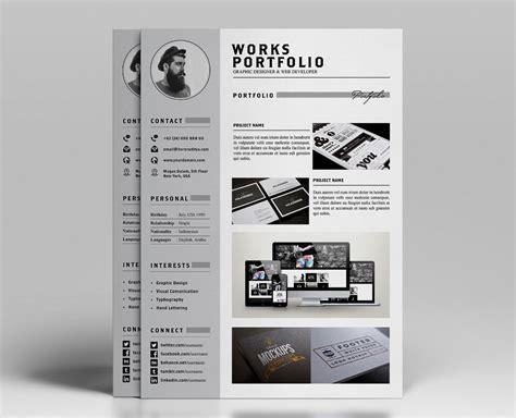 resume portfolio template ya