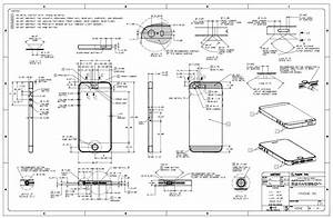 Apple Posts Iphone 5s  U0026 Iphone 5c Schematics  Case Design