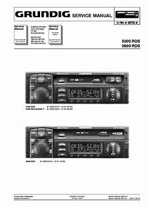 Blaupunkt Grundig Car Audio 5300 5600rds Skoda