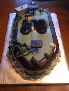 Party Boat Fishing Queens by Gone Fishing Cake On Pinterest Fishing Birthday Cakes
