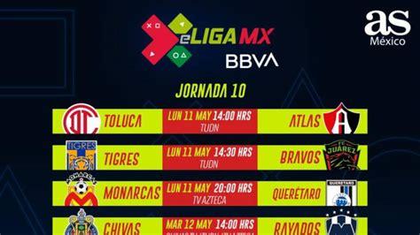 eLiga MX: Fechas y horarios de la jornada 10 - AS México