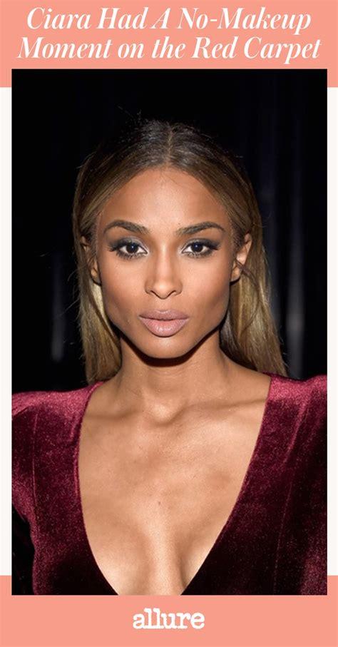 ciara  makeup moment  happened   red carpet allure