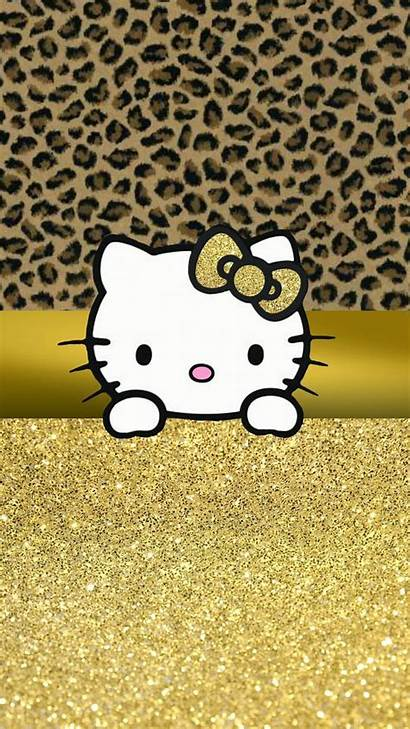 Hello Kitty Wallpapers Leopard Sanrio Iphone Yellow