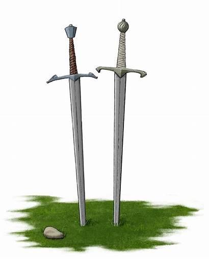 Swords Transparent Opengameart