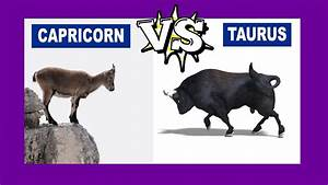 Make Your Own Birth Chart Capricorn Vs Taurus Who Is The Strongest Zodiac Sign