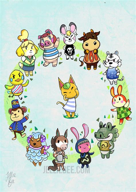 Where Do You Buy Wallpaper In Animal Crossing New Leaf - animal crossing zodiac by ditto9 on deviantart
