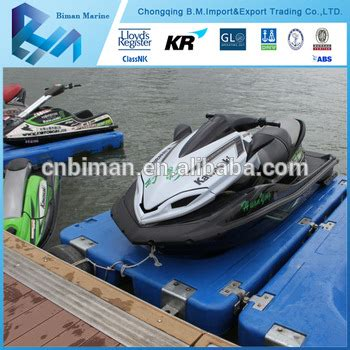 plastic water proof plastic float jetty decking buy