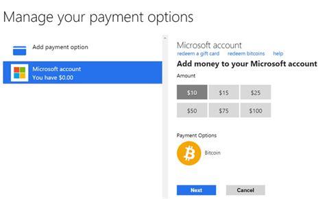 Primero, en el panel izquierdo dentro de tu cuenta buenbit vas a ingresar y luego, tenés que elegir en la parte superior la opción de retirar y a continuación, se abrirá el panel de retiro de bitcoin. Cómo usar Bitcoin para agregar dinero a una cuenta de Microsoft (paso a paso) ...