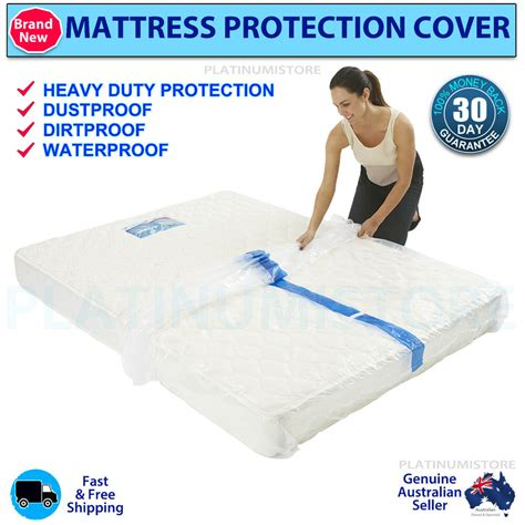 Storing A Mattress by Plastic Mattress Protector Moving Storing Dust Pest