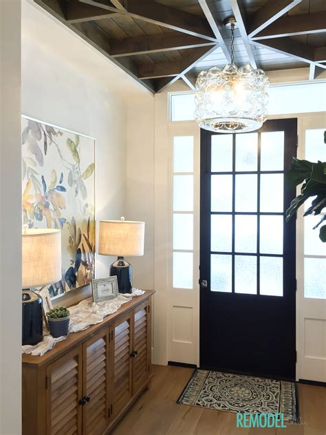 entryway pictures remodelaholic get this look a transitional entryway