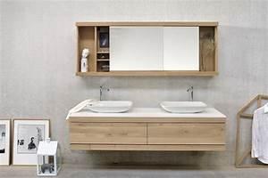 Waschtischunterschrank Mit Schubladen : oak cadence doppel waschtischunterschrank by ethnicraft ~ Indierocktalk.com Haus und Dekorationen