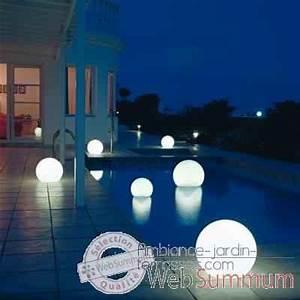 Lampe De Piscine : lampe demi lune blanche ronde sur batterie bmfl750140 ~ Premium-room.com Idées de Décoration