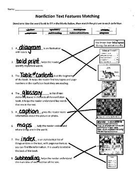 Fiction Nonfiction Worksheet Worksheets For All Download