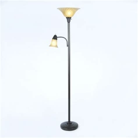 torchiere floor l with reading light single arm reading torchiere traditional floor ls